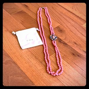 J. Crew coral necklace